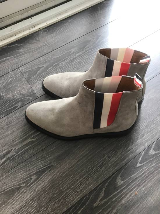 Thom Browne Grey Suede Chelsea boots Size US 10 / EU 43 - 2