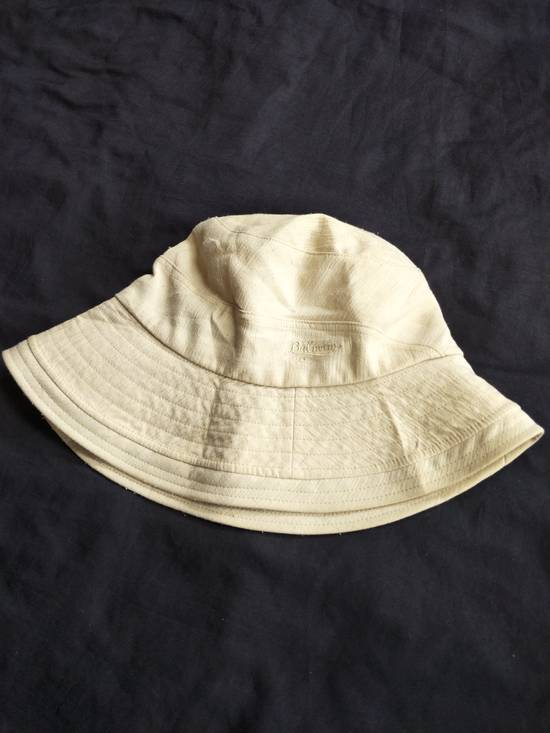 Balmain Authentic Classic Balmain Paris Bucket Hat / Luxury French Designer Monogram Spellout / Good Condition / Medium Size Size ONE SIZE - 1
