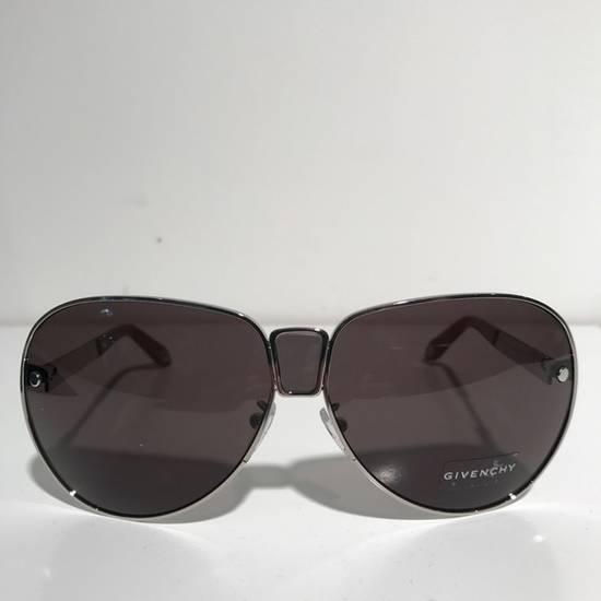 Givenchy Givenchy Silver Unisex Aviator Sunglasses NIB Size ONE SIZE