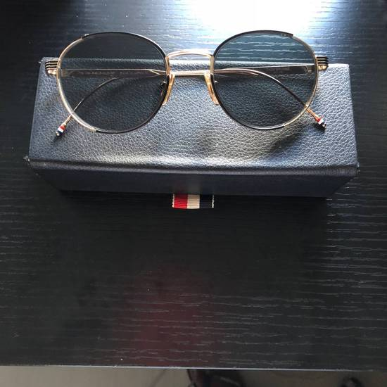 Thom Browne Thom Browne Gold Round Sunglasses Size ONE SIZE