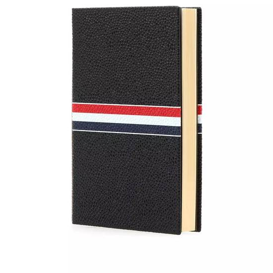 Thom Browne Thom Browne pebble grain leather notebook Size ONE SIZE - 1