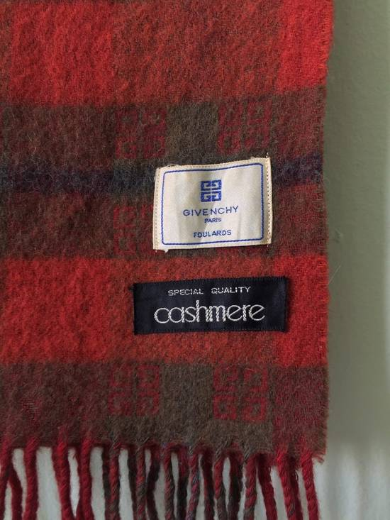Givenchy Final Drop Before Delete!! Vintage Givenchy Scarf Muffler Cashmere Wool Free Shipping Size ONE SIZE