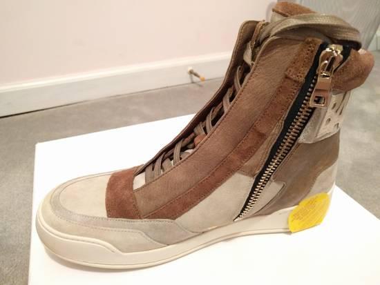 Balmain NEW Balmain Leather and Suede Hi-Top Sneakers Size US 9 / EU 42 - 1