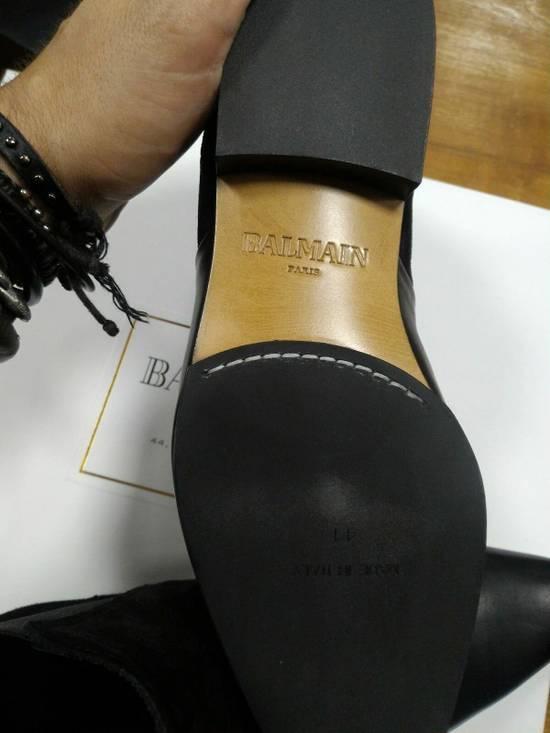 Balmain 40-41-42 Contrast Suede & Leather Boot Size US 9 / EU 42 - 7