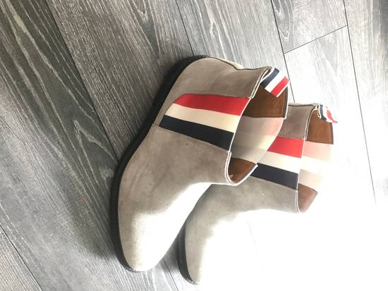 Thom Browne Grey Suede Chelsea boots Size US 10 / EU 43 - 1