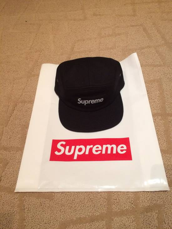 6b116ce2316 Supreme Black Cavalry Twill Camp Cap Size one size - Hats for Sale ...