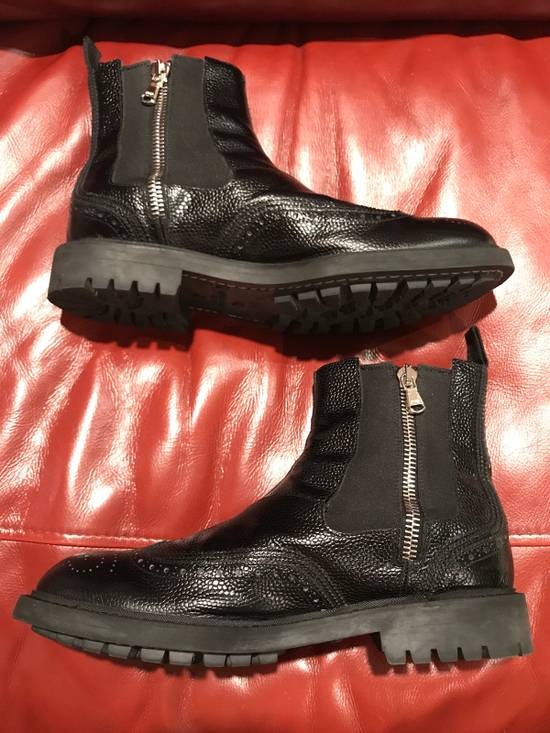 Givenchy Double Zip Wingtip Chelsea Boots Size US 9.5 / EU 42-43 - 5