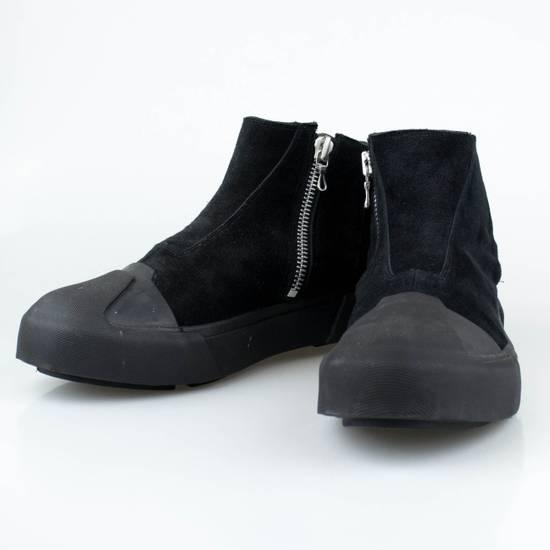 Julius 7 Black Cow Suede Leather Hi Top Sneakers Shoes Size US 11 / EU 44