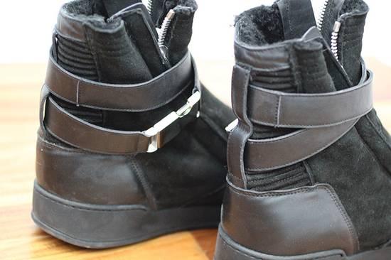 Balmain Shearling Sneakers Size US 10 / EU 43 - 2