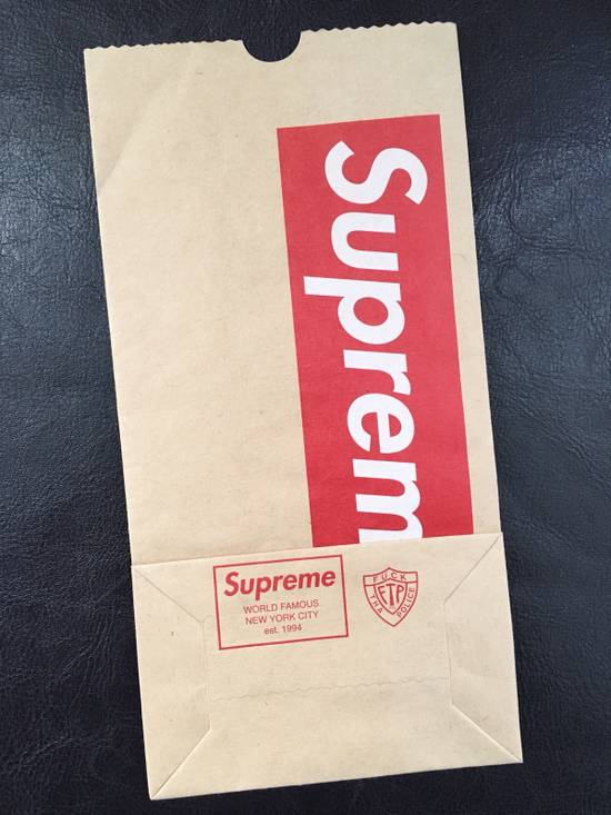 Supreme Brown Paper Bag Size ONE SIZE - 1