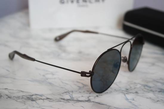 Givenchy NEW Givenchy 7054/S Bronze Blue Mirrored Round Sunglasses Size ONE SIZE - 4