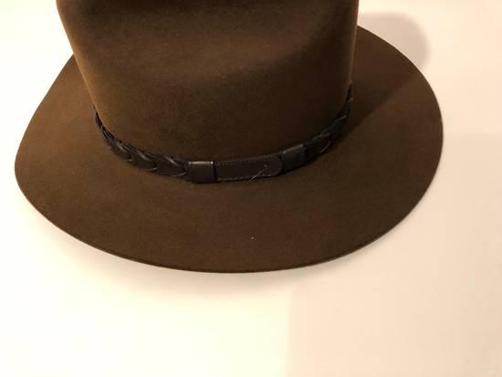 c399814a38f ... Stetson Kingsman + Stetson Jack s Statesman Leather-Trimmed Felt Hat  Size ONE SIZE ...