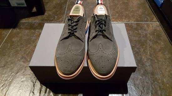 Thom Browne Thom Browne Suede Wingtip Shoes Size US 10 / EU 43 - 1
