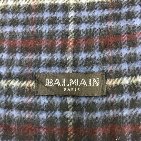 "Balmain LAST DROP‼️‼️Rare!! Balmain Checked Scarf Size 12"" x 60"" Size ONE SIZE - 3"