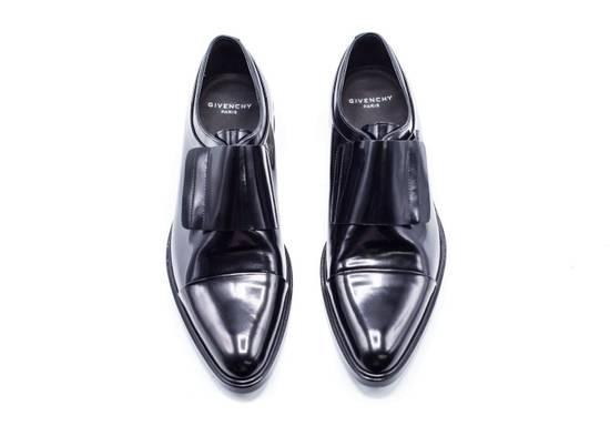 Givenchy Givenchy Mens Richelieu Metal Heel Black Leather Oxfords Size US 11 / EU 44 - 1