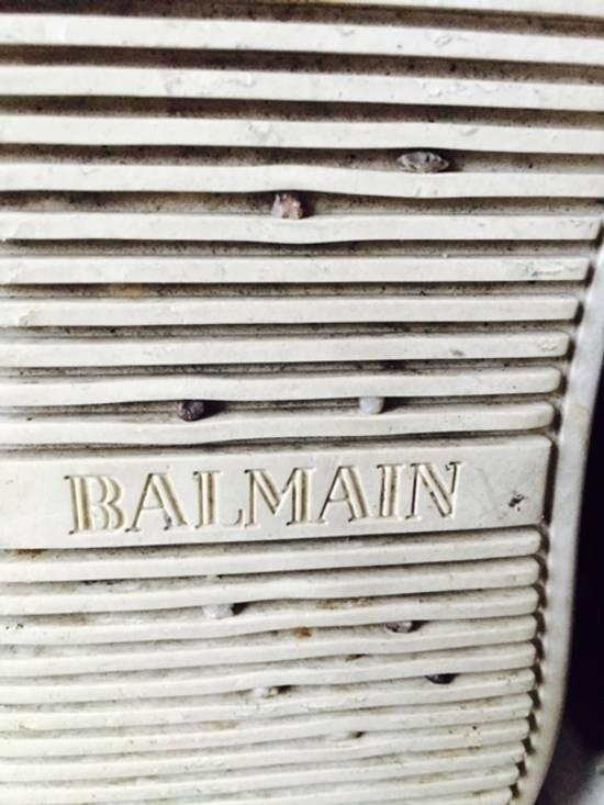 Balmain backzip sneakers Size US 10.5 / EU 43-44 - 7