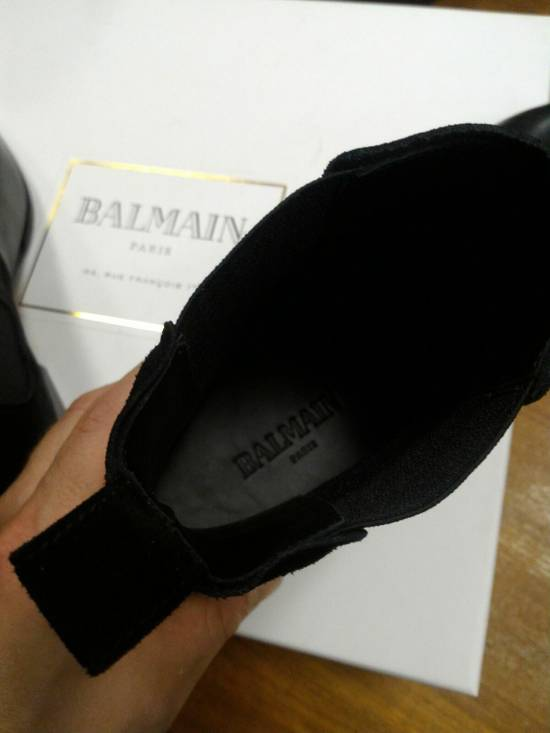 Balmain 40-41-42 Contrast Suede & Leather Boot Size US 9 / EU 42 - 6