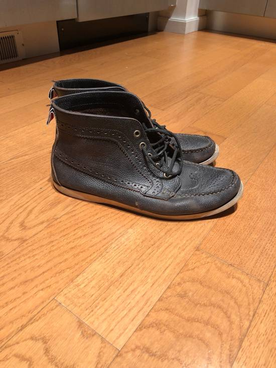 Thom Browne High Top Boat Shoes Size US 9.5 / EU 42-43 - 2