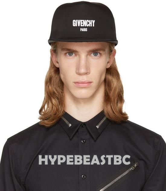 Givenchy Givenchy Paris Logo Cap Baseball Hat, Black, NWT Size ONE SIZE - 3