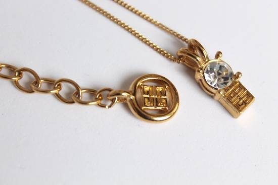 Givenchy Gold Plated Herringbone Twist Bracelet Size ONE SIZE - 4
