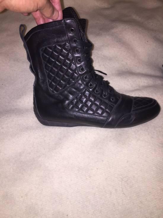Balmain Black quilted Balmain boots Size US 9 / EU 42 - 3