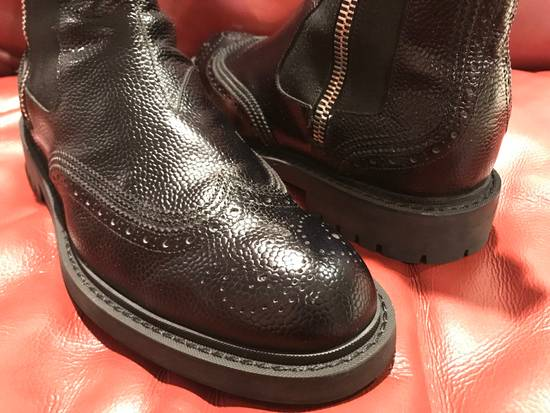 Givenchy Double Zip Wingtip Chelsea Boots Size US 9.5 / EU 42-43 - 15
