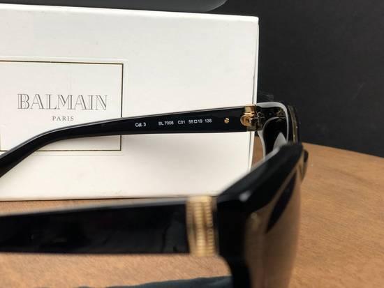Balmain Balmain Black Gold Sunglasses BL 7008 Size ONE SIZE - 2