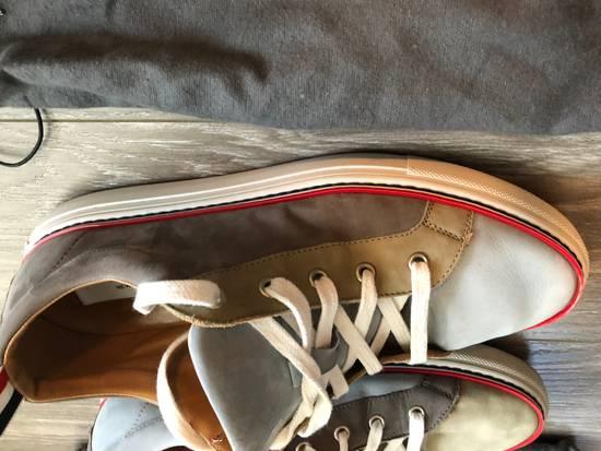 Thom Browne Multi Color Calf Leather Sneaker Size US 8 / EU 41 - 3
