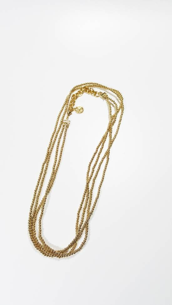 Givenchy Necklace dual strand gold plated Size ONE SIZE