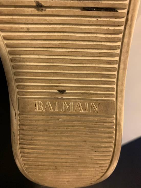 Balmain Balmain White High-Top Sneakers Size US 6.5 / EU 39-40 - 6