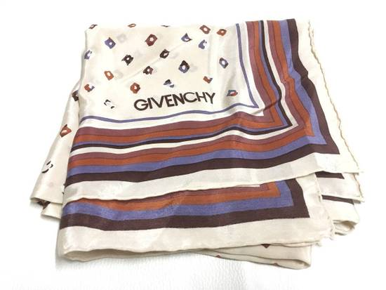 Givenchy Givenchy Stripe Silk Scarf Abstract Silk Scarves Size ONE SIZE