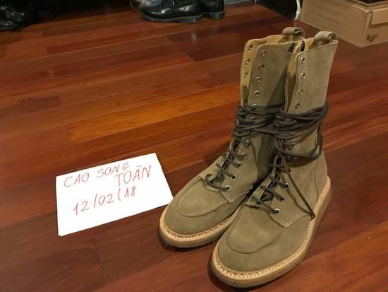 Balmain Balmain Ranger Boots Suede Decarnin 2011 Size US 9 / EU 42