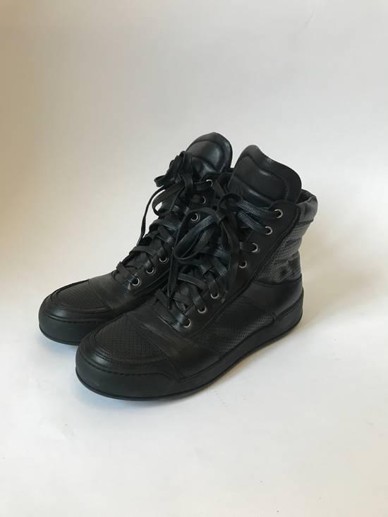 Balmain high leather sneakers Size US 8 / EU 41