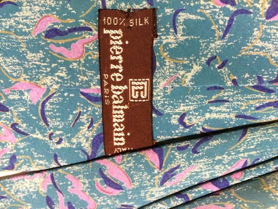Balmain Rare Vintage Pierre Balmain Graphic Tie Size ONE SIZE - 2