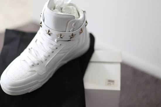 Givenchy Tyson Hightop STARS STRAPS Leather Sneaker Size US 12 / EU 45 - 6