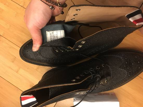 Thom Browne Thom BROWNE Leather Boots Size US 11 / EU 44 - 3