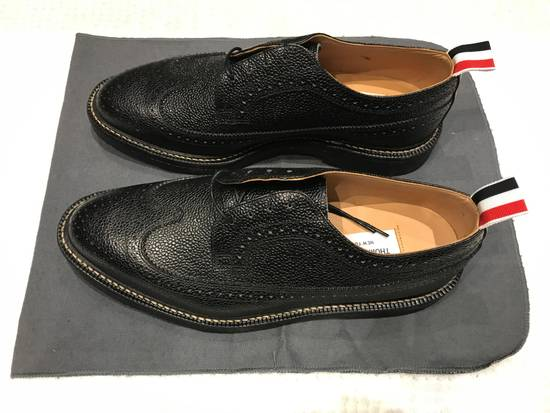 Thom Browne Classic Brogues with Gum Sole in Pebble Grain Size US 7 / EU 40 - 2