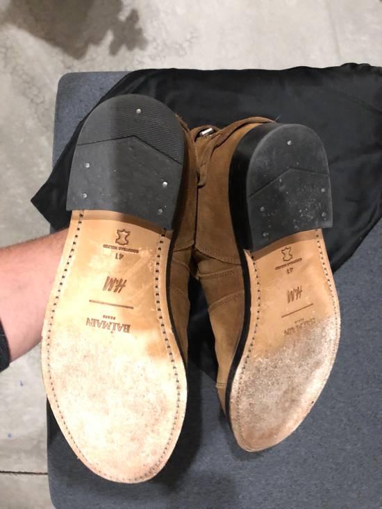 Balmain Brown Suede Boots Size US 8.5 / EU 41-42 - 3