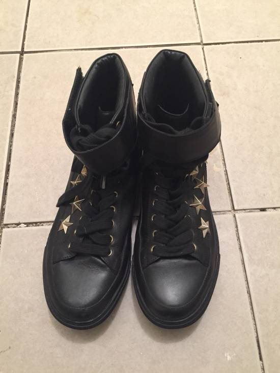 Givenchy $850 Givenchy Stars Studded High Top Sneakers Size US 8 / EU 41 - 1