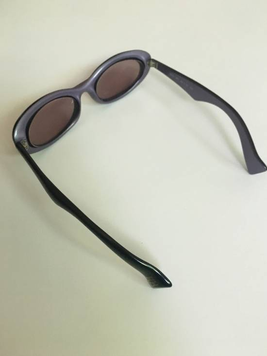 Givenchy Transparent Midnight Purple Retro Givenchy Sunglasses Size ONE SIZE - 1