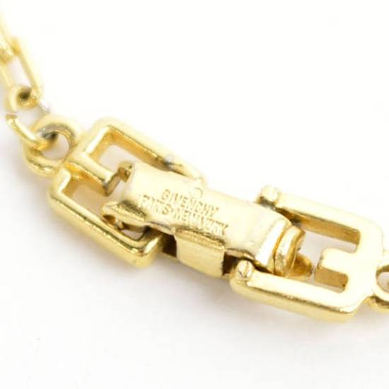 Givenchy Gold Logo Necklace Size ONE SIZE - 9