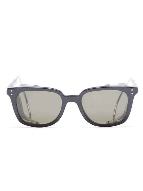 Thom Browne TB-018 Glasses - Black/Matte Silver Size ONE SIZE - 2