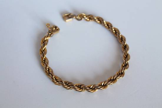 Givenchy Gold Plated Cuban-Link Necklace Size ONE SIZE - 4