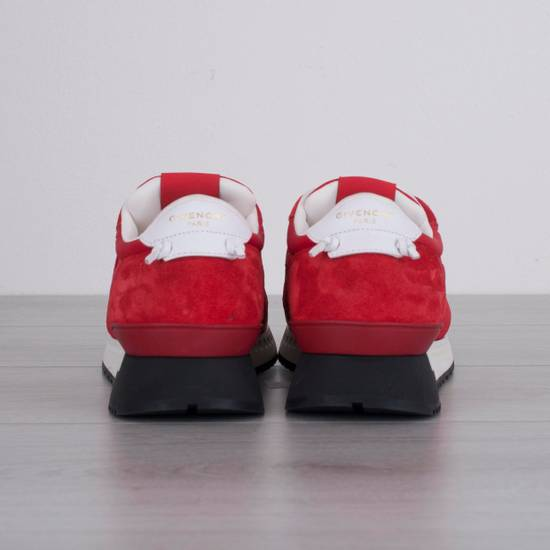 Givenchy Red Band Strap Sneakers Size US 11 / EU 44 - 3