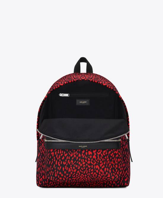 Givenchy Saint Laurent Leopard Print Backpack Size ONE SIZE - 2