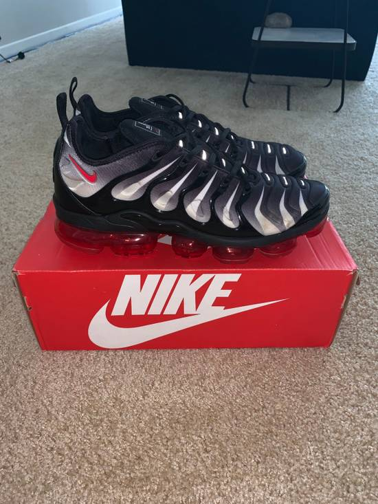 best loved efb07 d541b nike vapormax plus red and black