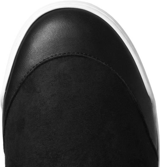 Balmain SHEARLING Black Hi-Tops Size US 10 / EU 43 - 4