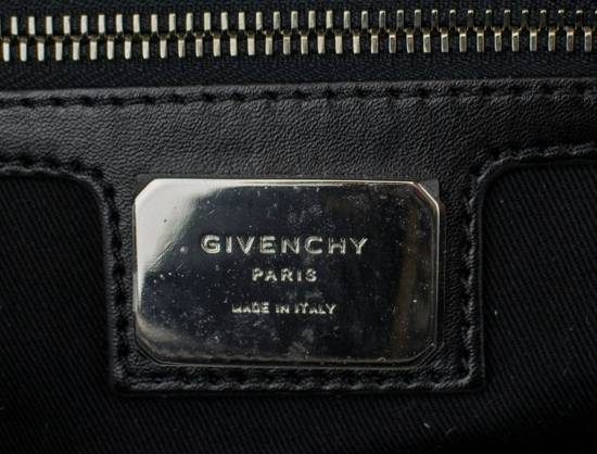 Givenchy Men's Blue/Black Leather Nightingale Paisley Carry On Bag Size ONE SIZE - 7