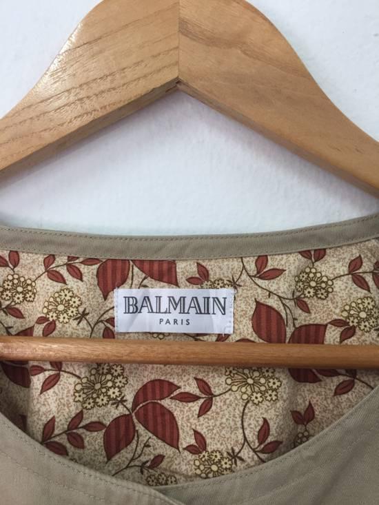 """Balmain Balmain Apron Armpit 22.5x34"""" Size ONE SIZE - 3"""