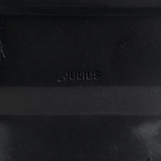 Julius 7 Black Cow Nubuck Leather Ankle Boots Shoes Size US 11 / EU 44 - 7